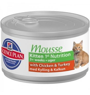 Hill`s SP Kitten 1st Nutrition Mousse консервы для котят