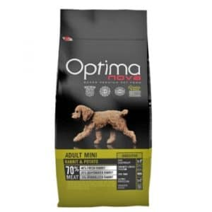 Optima Nova Adult Mini Rabbit and Potato корм для собак