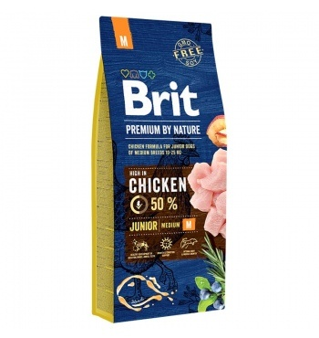 Brit Premium by Nature Junior M корм для щенков