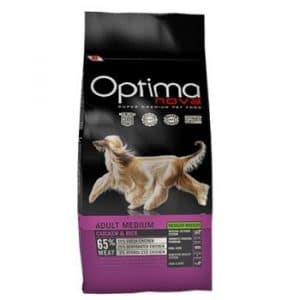 Optima Nova Adult Medium Chicken and Rice корм для собак