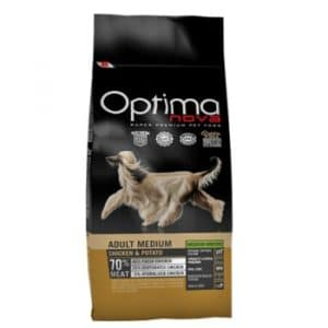 Optima Nova Adult Medium Chicken and Potato корм для собак