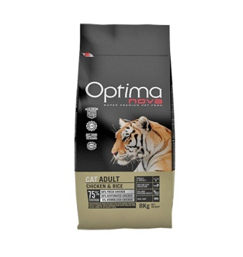Optima Nova Cat Adult Chicken Rice корм для кошек