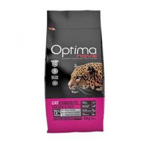 Optima Nova Cat Exquisite Chicken Rice корм для кошек