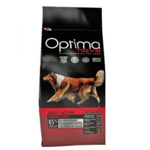 Optima Nova Active Adult Chicken & Rice корм для собак