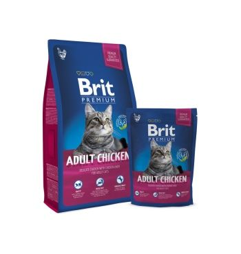 Brit Premium Cat Adult Chicken корм для кошек