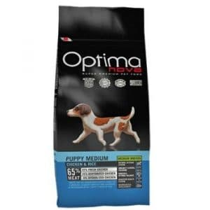 Optima Nova Puppy Medium Chicken and Rice корм для щенков
