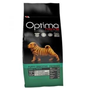 Optima Nova Puppy Digestive Rabbit and Potato корм для щенков