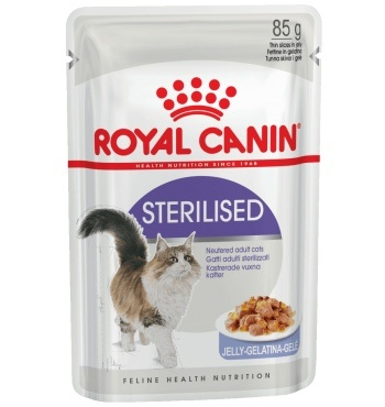 Royal Canin Sterilised в желе консервы для кошек