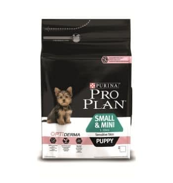 Pro Plan Small and Mini Puppy Sensitive Skin корм для щенков