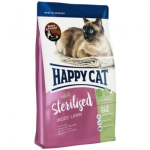 Happy Cat Supreme Adult Sterilised Weide Lamm сухой корм для кошек